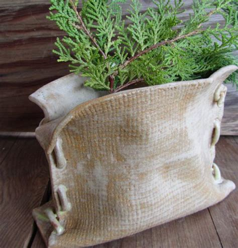 Burlap Bag Planter by The World S Catalog Of Ideas