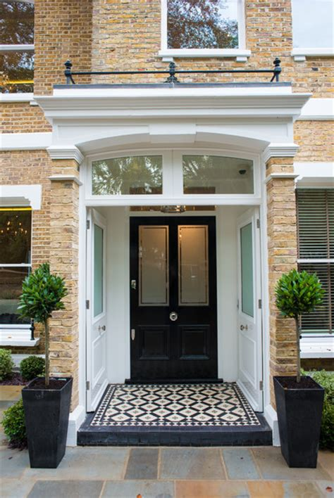 Traditional Front Doors Design Ideas Cleeves House Entry