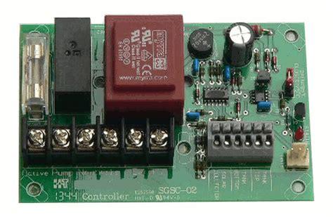 saxon solar water controller board