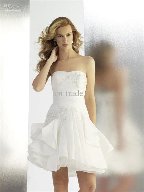 strapless short wedding dresses dress fa