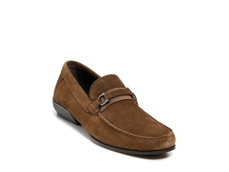 ferragamo bit loafer ferragamo bond 2 grograin bit loafer in brown for