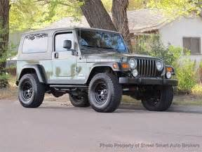 Used Jeep Rubicons For Sale Used 2006 Jeep Wrangler Unlimited Rubicon For Sale Stree