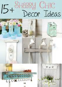pin shabby chic home decor decorating ideas for living