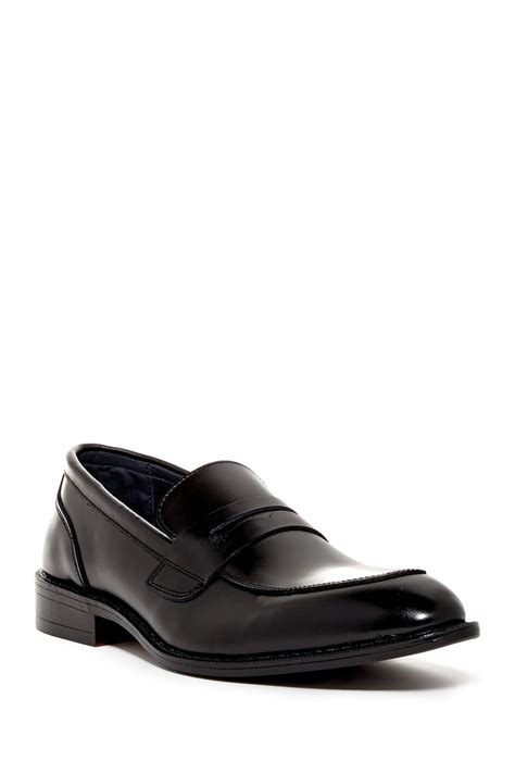 joseph abboud loafers joseph abboud lucas loafer in black for lyst