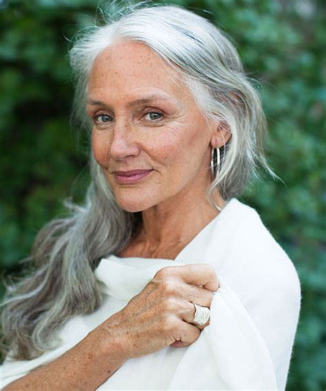 62 year old women with long hari 2015 fashion trends and more at refinery29 com