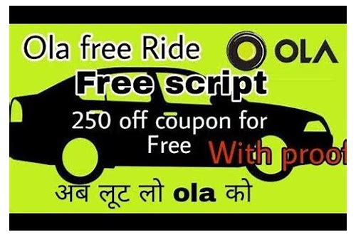 coupon code for ola