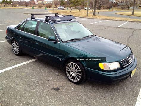 1996 audi quattro 1996 audi a6 quattro v6 automatic green with interior