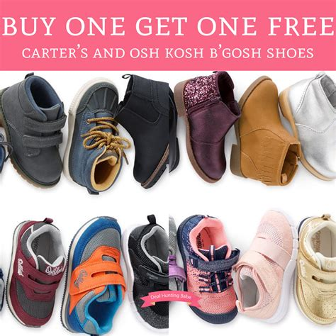 buy one get one free shoes buy one get one free s and osh kosh b gosh
