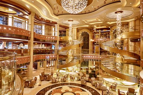Cruise Ship Interior by Inside The Largest Cruise Ship