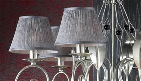 chandeliers with fabric shades chandeliers glass lighting styles