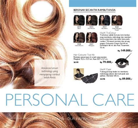 Hairx Cape Cape Unk Pewarnaan Rambut Katalog Oriflame April 2016 Indonesia Promo Novage