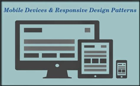 design html for mobile devices mobile devices responsive design patterns play