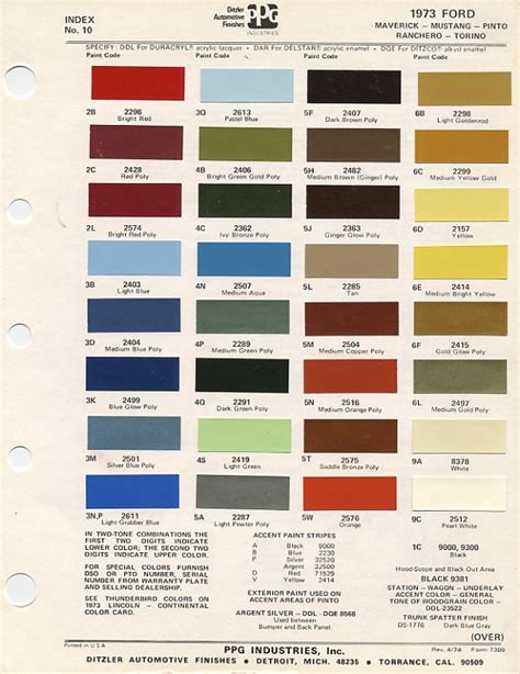 1970 color codes ford paint cross reference rachael edwards