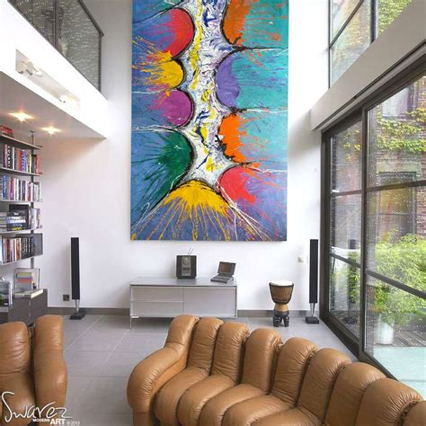 Large Artwork | large modern art for sale and big abstract paintings by swarez