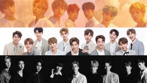 Masker Rempel Kpop Bts Exo Wanna One Blackpink Got7 Seventeen Etc ranking reputacji koreaå skich zespoå 243 w w paåºdzierniku 2017 â hallyuâ news
