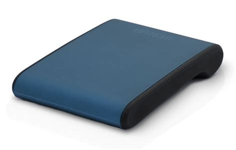 Harddisk External Hitachi 320gb cdrlabs hitachi 320gb simpledrive mini portable drive blue dusk disk drives