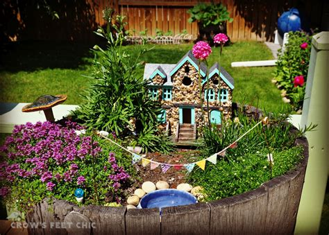 Better Gnomes And Fairy Gardens Crow S Feet Chic Gnome Garden Ideas
