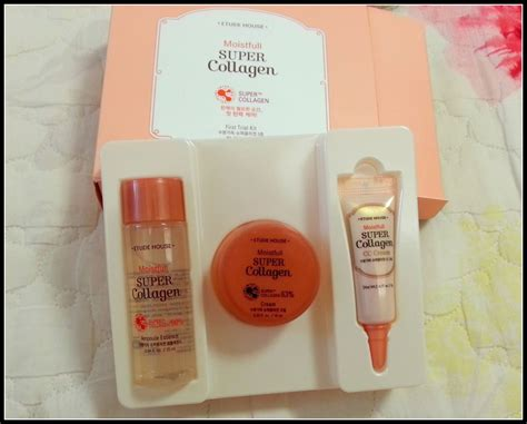 Moistfull Collagen etude house skin fit foundation moistfull collagen haul