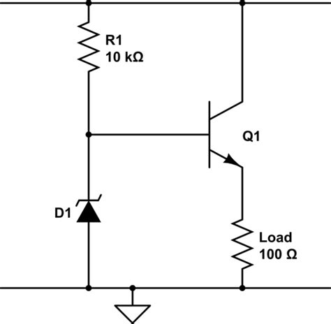alternative to emitter follower for simple bjt voltage regulator electrical engineering stack