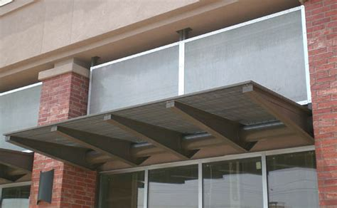 How To Paint Aluminum Awnings by Metal Awnings Aaa Awning Co Inc