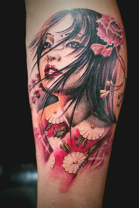 geisha realistic tattoo 50 amazing geisha tattoos designs and ideas for men and women