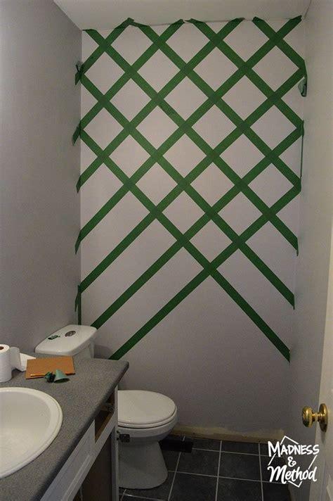 diamond accent wall wall paint patterns diy wall