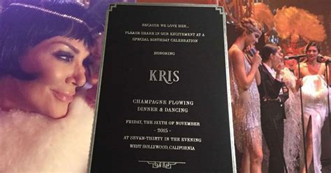 Inside Kris Jenners  Ee  Th Ee    Ee  Birthday Ee   Bash From The