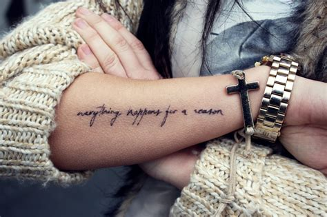 forearm quote tattoos 70 best inspirational quotes for 2018