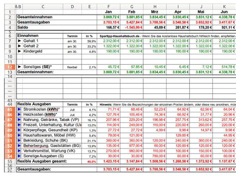 Kostenlose Vorlage Haushaltsbuch Spartipp Haushaltsbuch De Haushaltsbuch Bedienungsanleitung