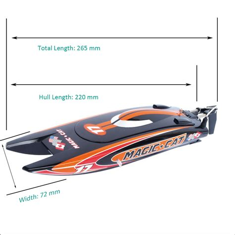 micro magic rc boat tiny micro rtr rc speed boat magic cat joysway hobby
