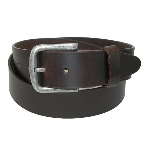 mens leather removable buckle bridle belt by ctm 174 casual