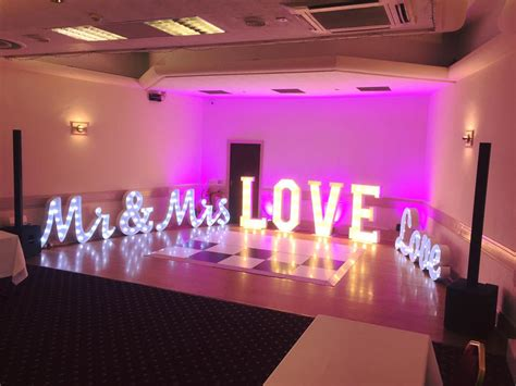 light  sign hire event store event store