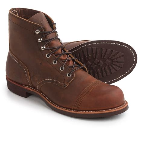 wing slippers for wing shoes wing heritage iron ranger cap toe boots