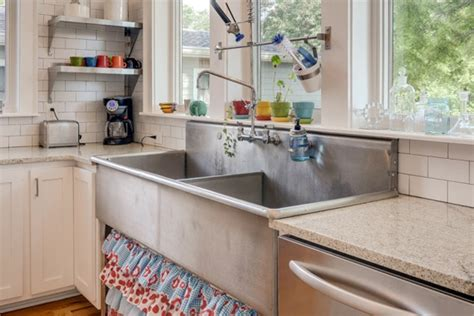 Used Commercial Kitchen Sinks Tips For Used Building Materials In Your Kitchen Houselogic Kitchens