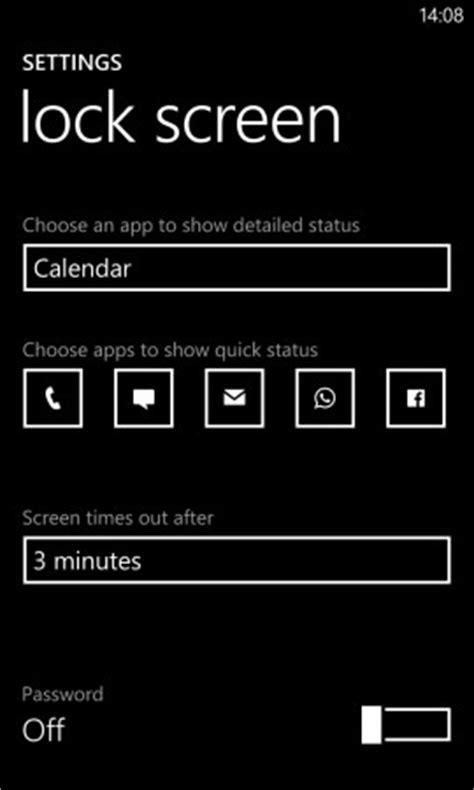 nokia lumia 925: how to personalise the lock screen