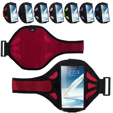 Colourfull Sport Armband Universal 5 Inch Samsung S4 S3 I9500 Pink running armband sports cover for samsung