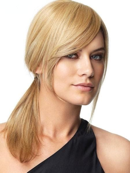 rachael welch bob hair style with side fringe human hair bang by raquel welch hair extensions com