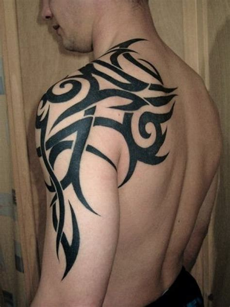 tribal tattoos on shoulder and arm 1000 ideas about tribal shoulder tattoos on