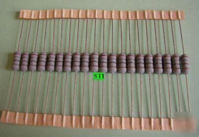 your electronics friend needs a 20 ohm resistor buy lot of 20 resistors 18 ohm 1w 5 bonus chart