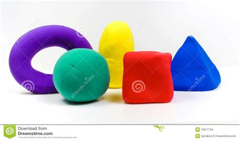 colorful clay colorful clay stock images image 10617734