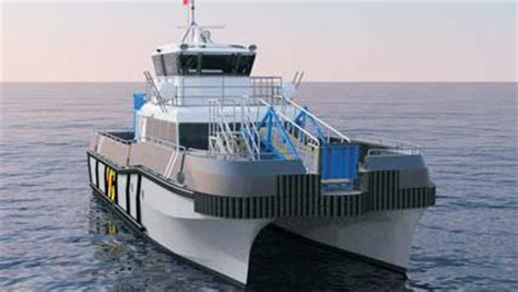 fast crew boats bmt to design two monohull fast crew boats for offshore