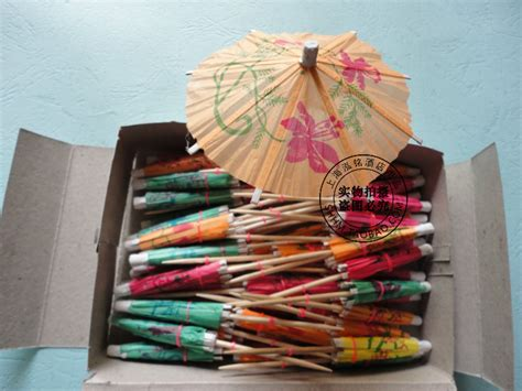 How To Make A Small Paper Umbrella - flower paper umbrella fruit fork small paper umbrellas
