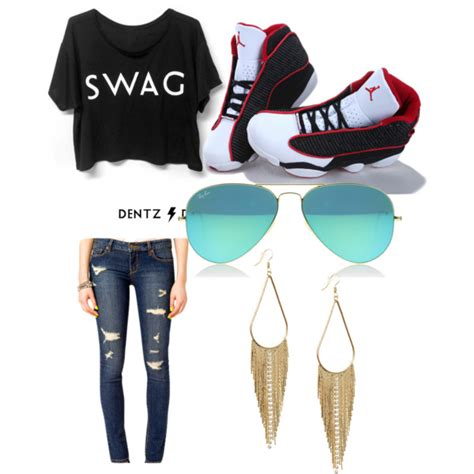 swag clothes polyvore