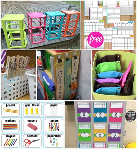21 Brilliant Classroom Organization Hacks   Playdough To Plato