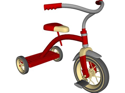 Tricycle 3d Model 3d Cad Browser