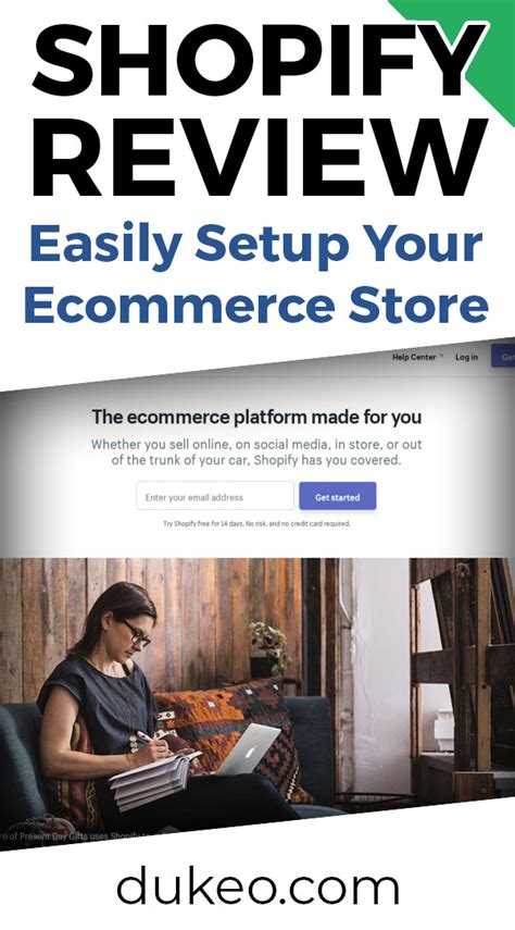 shopify review easily setup   commerce website