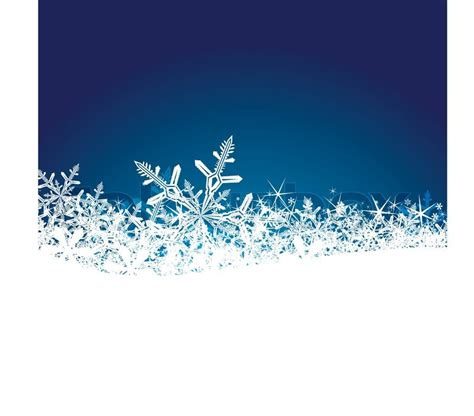 christmas background with snowflakes easy to edit stock vector colourbox