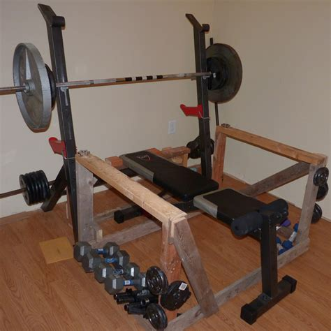 homemade bench press stand homemade exercise equipement bodybuilding com forums