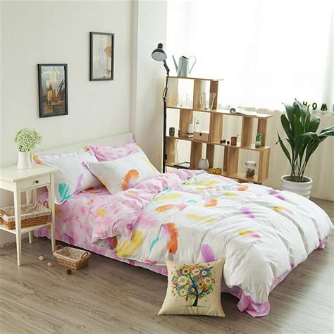 feather print bedding feather print linen bedding comforter sets king bedding
