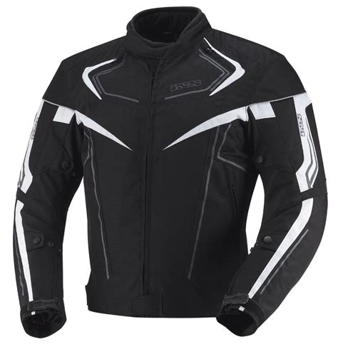 Motorrad B Rger D Sseldorf by Ixs Textile Jacket Rodger Water Wind Proof Black White